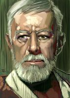 Old Obi Wan by RodReis
