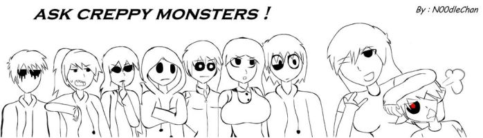 Ask All CreppyMonsters :B by ask-to