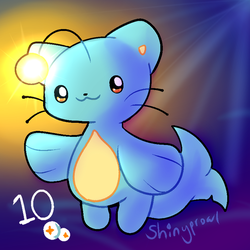 Cat Fish Adoptable 10 Points (CLOSED) by Shinyprowl