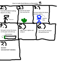 How To Make Memes On DeviantArt by uygfniudrugyeruh