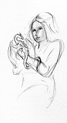 Drink and Draw 6/18 by Sylverthorne