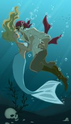 Drowning but Happy by YaneYing