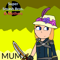 Smash Bros. and Mothers Poster (Mum) by Spongecat1