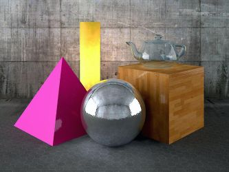 3DS Max_Vray_Sample_Scene by automatte