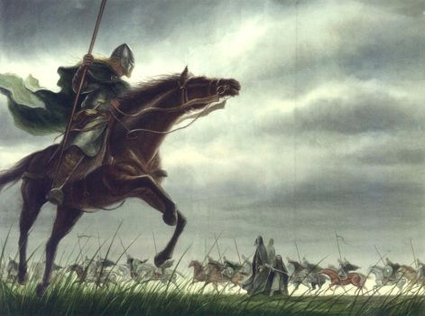 The Riders of Rohan by TurnerMohan
