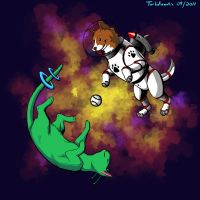 Space Puppy V2 by turbofanatic