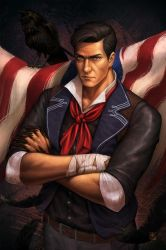 Commission - Booker Dewitt by mkitho