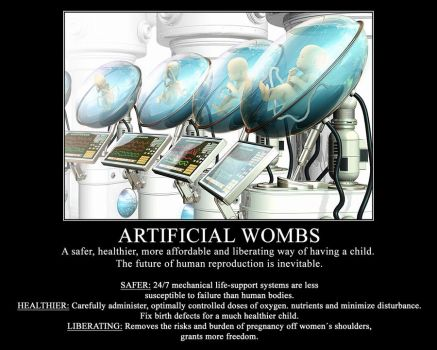 Artificial Wombs: The future of human reproduction by millenia89