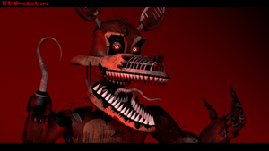 I'll See You Soon....(SFM Nightmare Foxy Render) by TF541Productions
