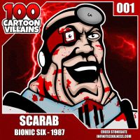 100 Cartoon Villains - 001 - Scarab! by CreedStonegate