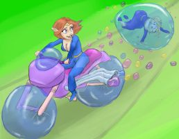 BubbleCycle by GoldLinaric