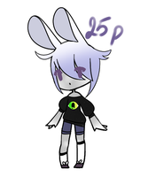 [Closed] Cheap Bunny Adoptable by sinjour