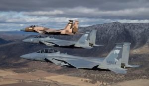 McDonnell Douglas F-15 Eagles 173RD FW ORANG 114FS by GeneralTate