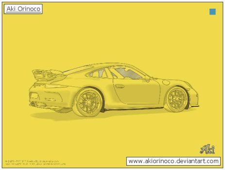 new ID - Porsche 911 GT3 by AkiOrinoco