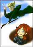 Rose and Scorpius::Quidditch by FEuJenny07