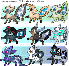 Aqualoop Adoptables - CLOSED by JB-Pawstep