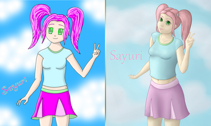 Sayuri - Before and After by Israel50