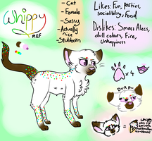 Whippy Ref Sheet by ThatCreativeCat