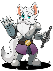 Dungeons n' Dragons: Dr. Wolf by BasilLoon