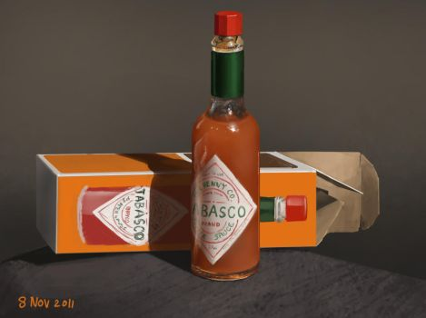tabasco stillife by DStraX