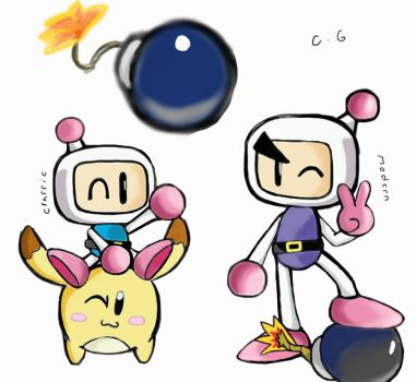 Bomberman Generations by CandyGunso
