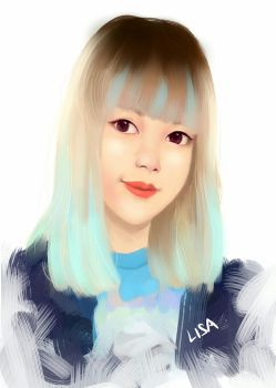 Art request: Lisa Blackpink by Alvyia