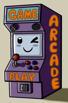 Video game arcade kawai by Maleiva