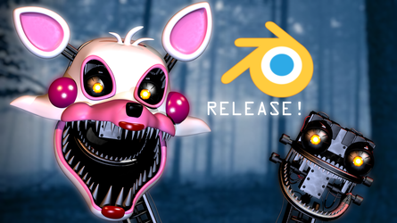 FNaF The Fourth Closet- Mangle Release! by DaMikel