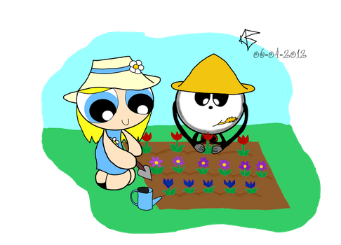 RQ: Gardening Time by AfricanPrincess981
