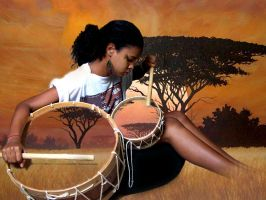 African Girl by Placebow