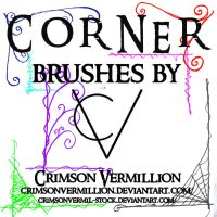 Corner Brushes PS 7 by crimsonvermil-stock