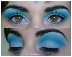 Blue Crush by AgoraMAKEUPArtist