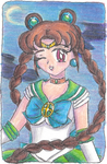 ACEO #2 - Sailor Earth by whiizu