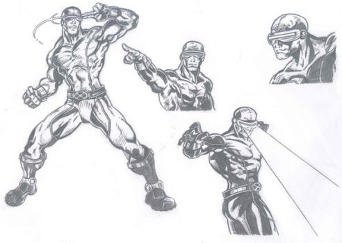 Cyclops Second Attempt by kameleon84