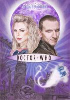 Doctor Who Series One Poster by siniart