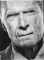Clint Eastwood by otong666