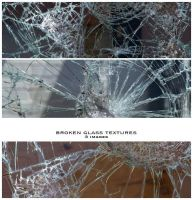Broken Glass Textures by nighty-stock