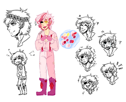 FNAF human Mangle by iNuts