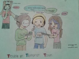 Trouble in Terrorist Town by Sugaarpeeeas