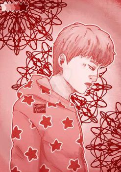 Jin - mimic - Spring day + Speed Paiting by Rebeca-Honney