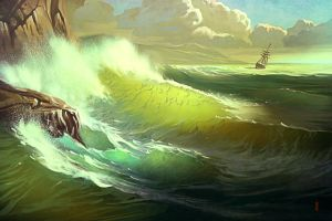 The last day of Numenor by RHADS