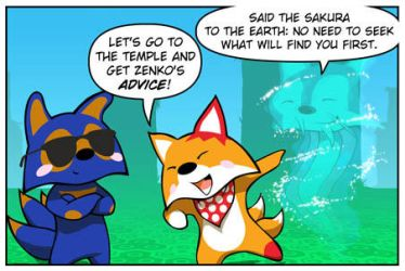 Rocket Fox 20 panel 1 by StacyKing