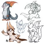 Chua Sketches by jmh3k