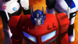 G1 Transformers Optimus Prime Prowl and Jazz