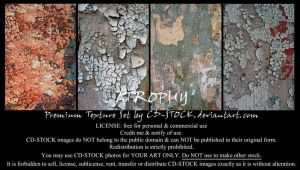 Atrophy Premium Texture Set by CD-STOCK