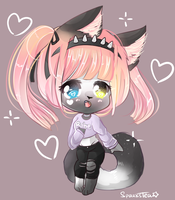 | sweet chibi commission | Juliper by SparksTea
