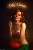 The Witcher - Halloween Triss by MilliganVick