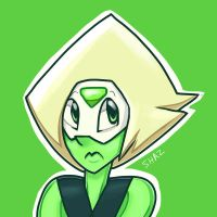 Peridot Portrait by slime-tiger