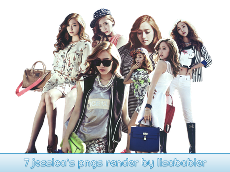 JESSICA PNG PACK by lisababier