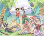 One Piece Crew by hyperrrmouse